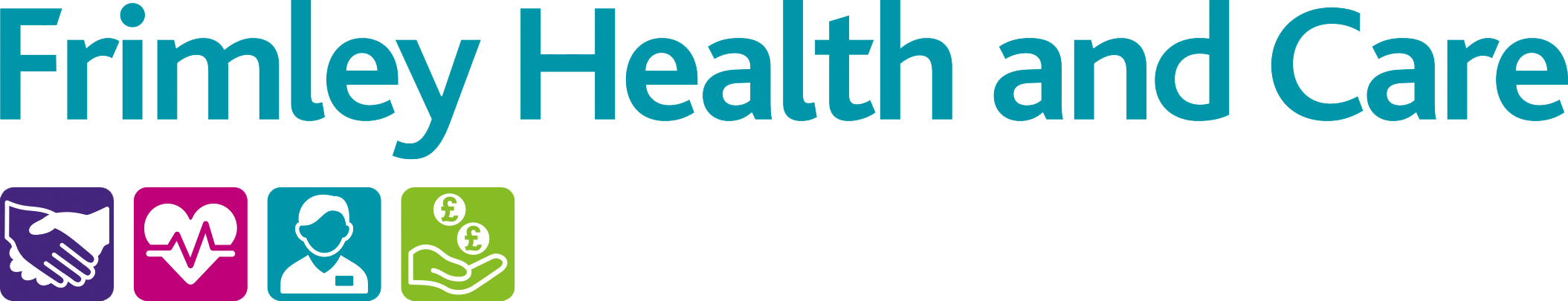Frimley Health and Care logo